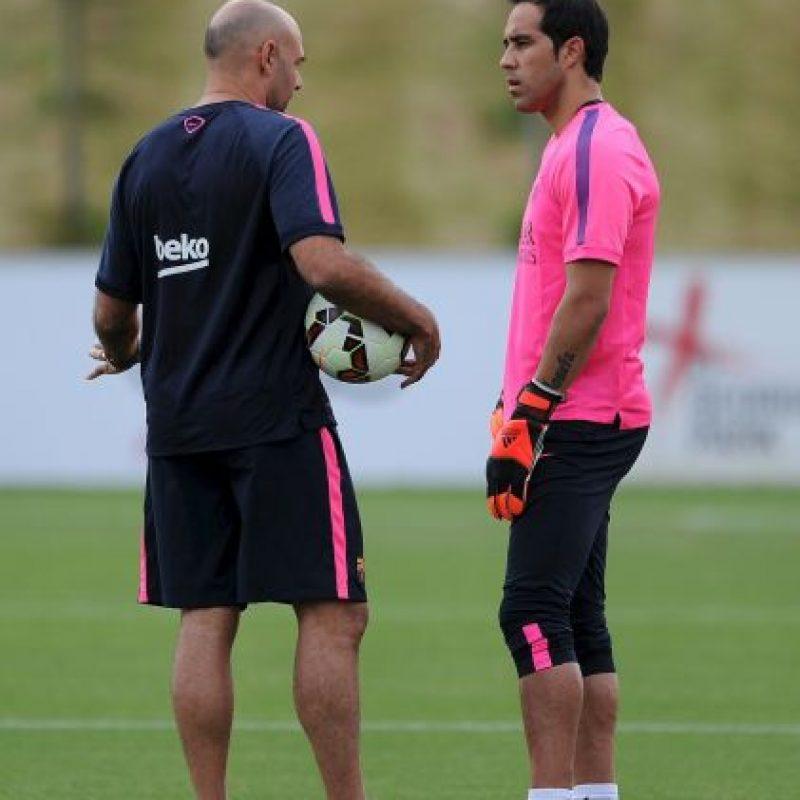 Su promedio en el Barça es de 0.53 goles por partido. Foto:Getty Images