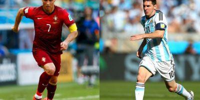 El eterno debate del mundo del fútbol: ¿Quién es mejor, Cristiano Ronaldo o Lionel Messi? Foto:Getty Images