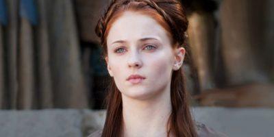 Sansa Stark con cuatro bebé pudo integrarse a la lista de personajes que inspiran a los papás. Foto:Vía HBO