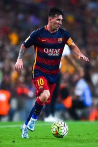 El argentino Lionel Messi juega en el Barcelona de España Foto:Getty Images