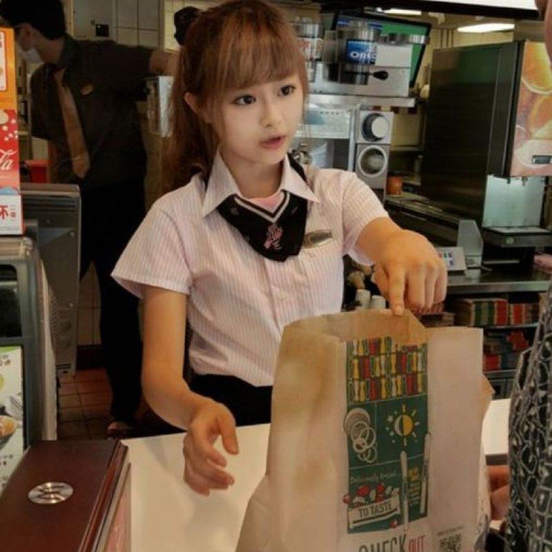Wei también es modelo Foto:Vía raindog.pixnet
