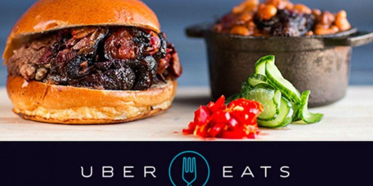 Además de viajes en auto, Uber ahora hace entregas de comida a domicilio
