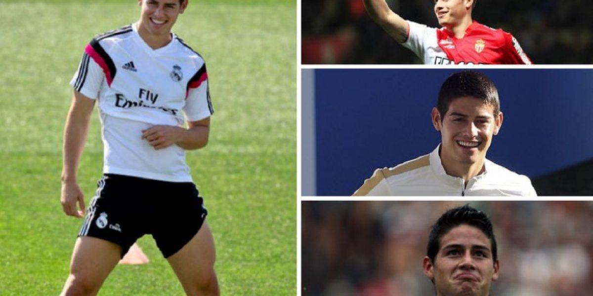 Fotos: James Rodríguez y su cambio físico durante su carrera deportiva