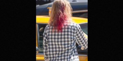 La última vez fue visto con cabello de colores. Foto:Grosby Group