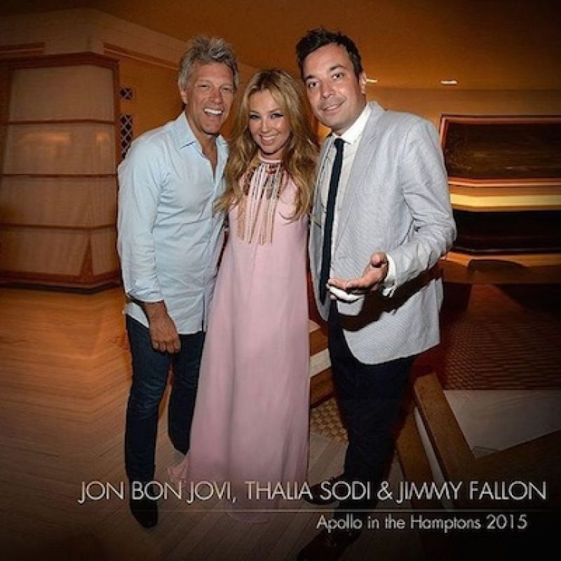 "Thalía acudió a la gala anual de ""Apollo in the Hamptons"" Foto: Instagram/Thalia"