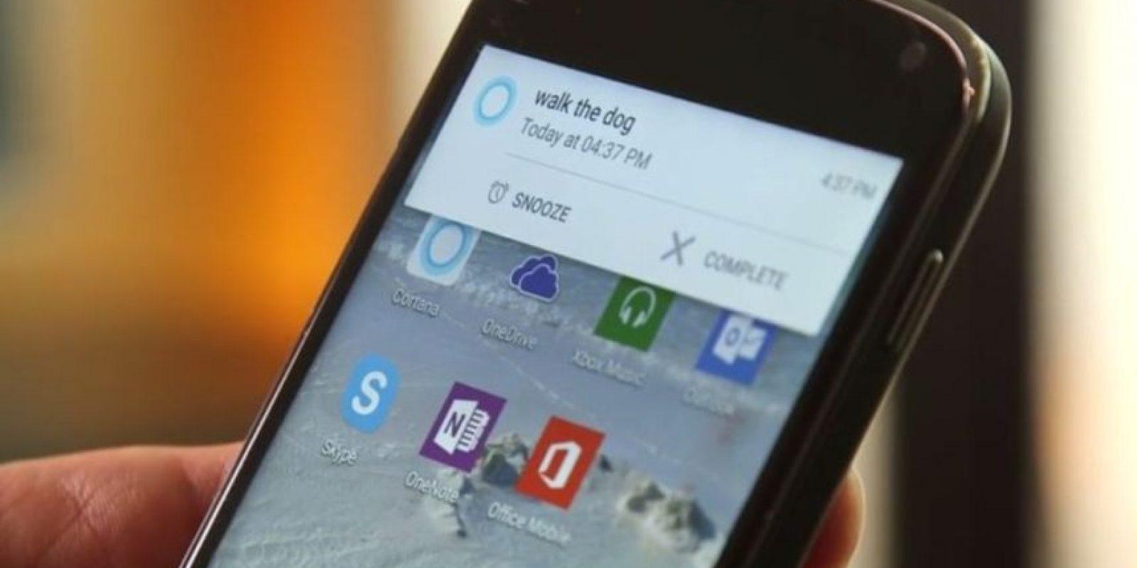 Es posible comenzar una llamada a un contacto específico de Skype y otras acciones determinadas. Foto:Microsoft