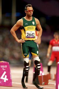 Óscar Pistorius es un atleta paralímpico sudafricano que compite en atletismo. Foto:Getty Images