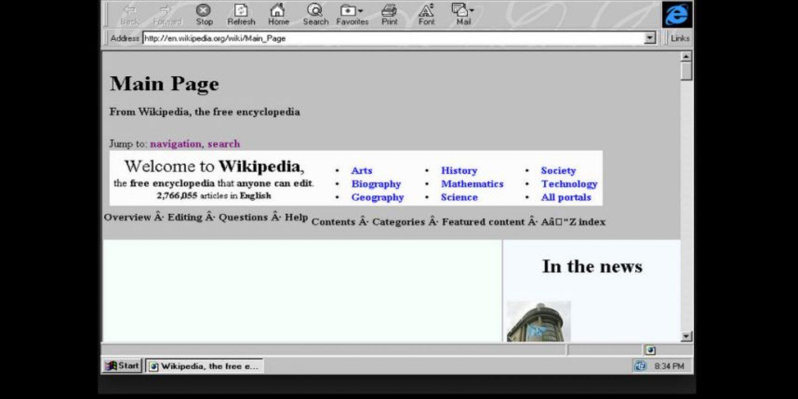 Internet Explorer 3.0 (1996) Foto:Microsoft