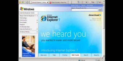 Internet Explorer 7.0 (2006) Foto:Microsoft