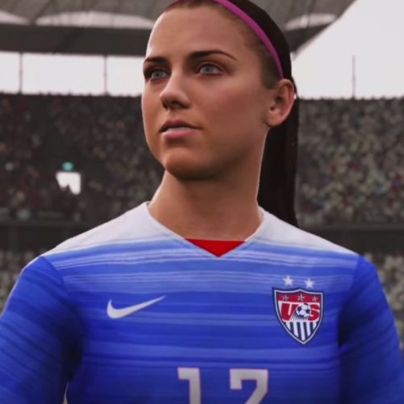 Alex Morgan Foto: EA Sports