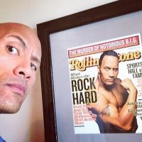 Entre sus logros como luchador se destacan diez campeonatos mundiales. Foto:Instagram/therock
