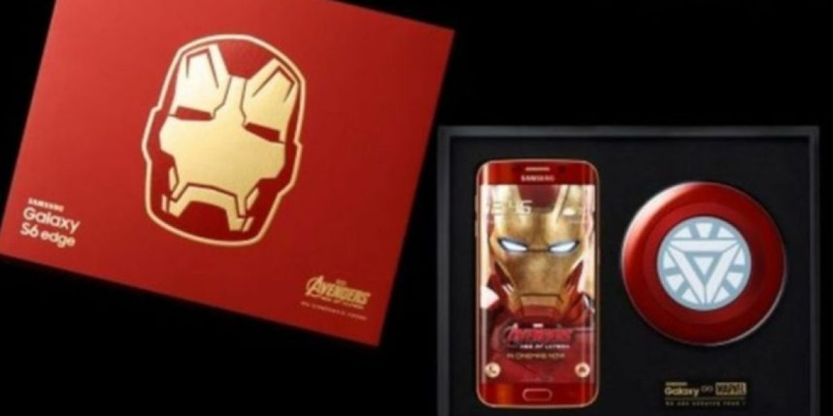 VIDEO: Así destruyen un Samsung Galaxy S6 Edge Iron Man Edition