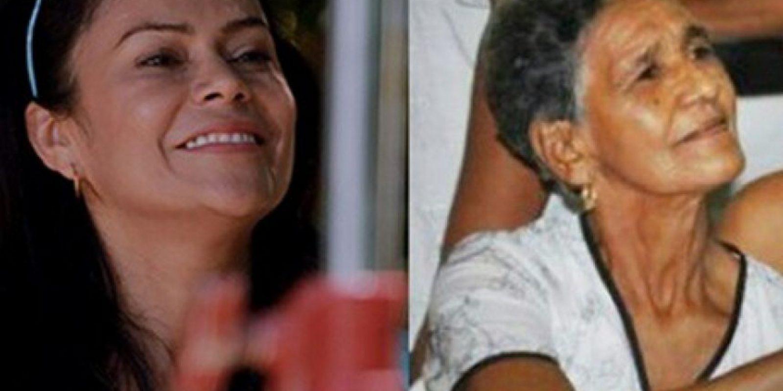 Adriana Ricardo es Elvira Maestre, la mamá del cantante Foto:Canal RCN
