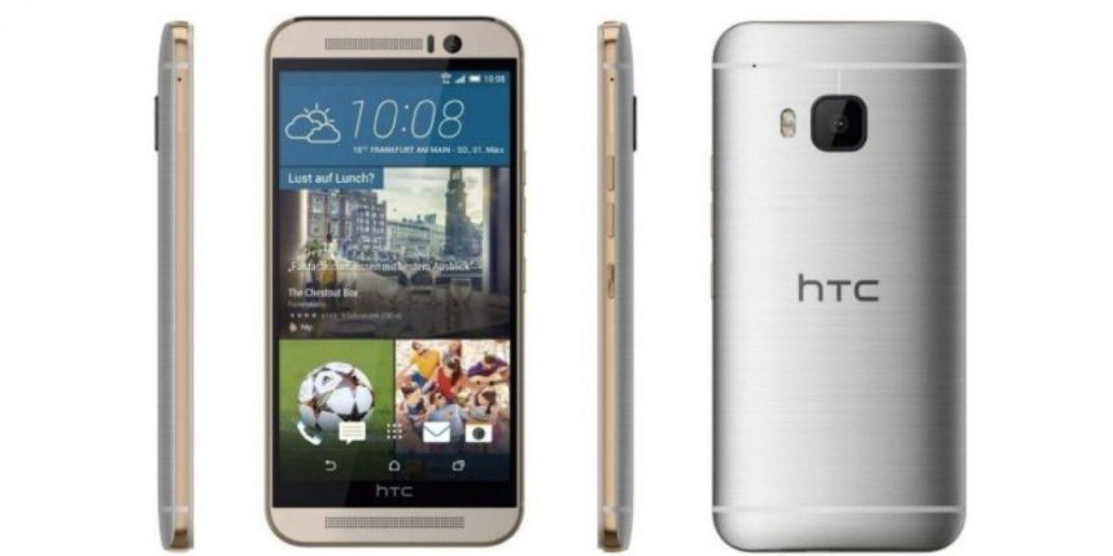 HTC One M9 tiene un precio de salida de 579 dólares. Foto:HTC