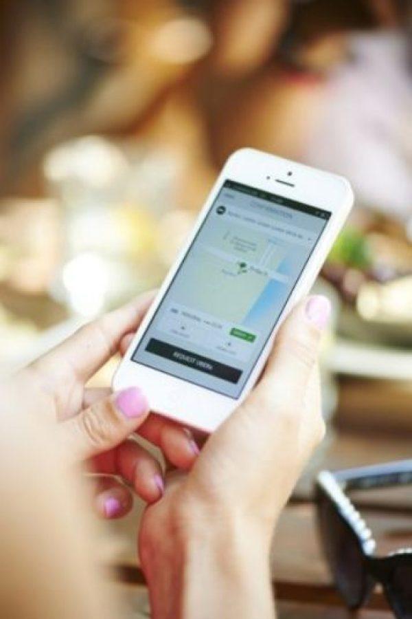 2- La aplicación está disponible para iPhone y Android. Foto:Uber