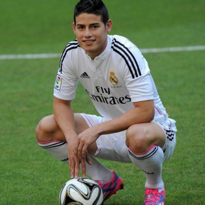 James Rodríguez (Real Madrid/Colombia) Foto:Getty Images