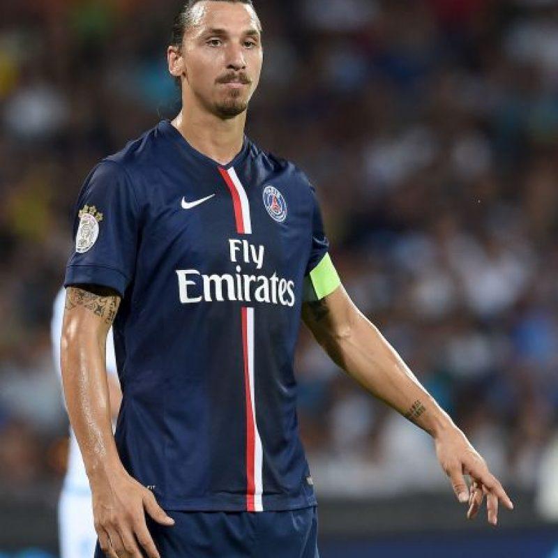 8. Zlatan Ibrahimovic (Suecia) Foto:Getty Images