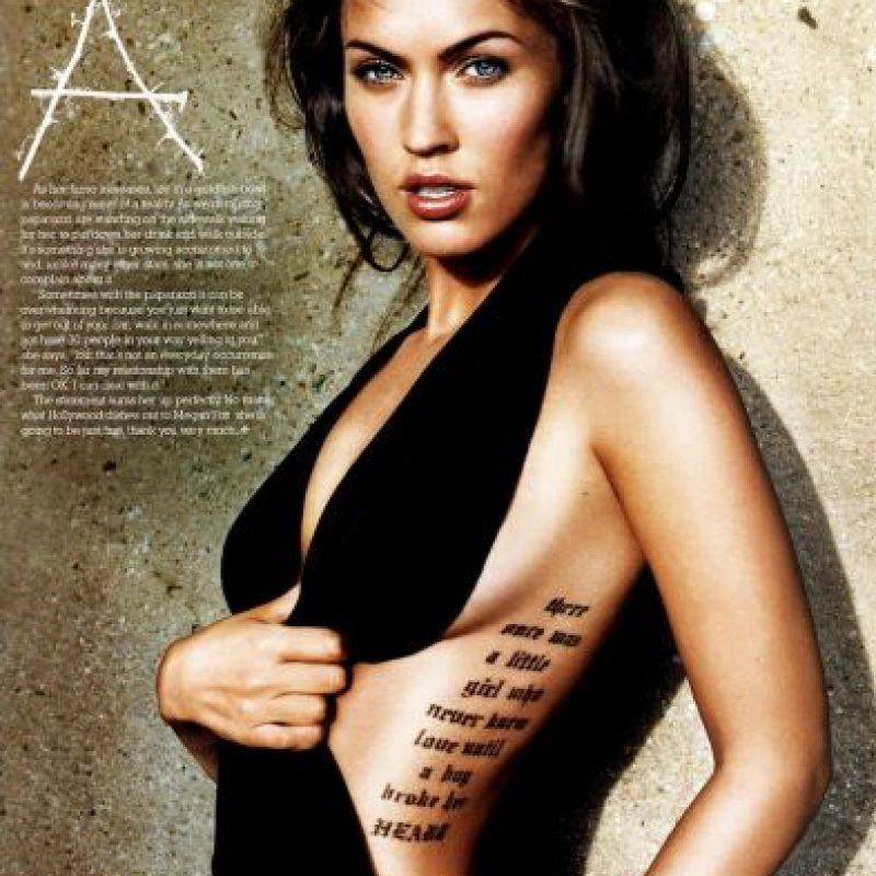 Megan Fox Foto: Men's Style Magazine