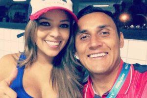 Esposa de Keylor Navas. Foto:Vía twitter.com/andreasalasb