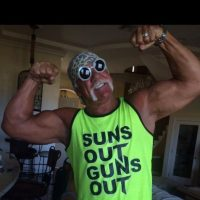 5. Hulk Hogan tiene el récord de peleas invicto en SummerSlam con seis Foto:Twitter