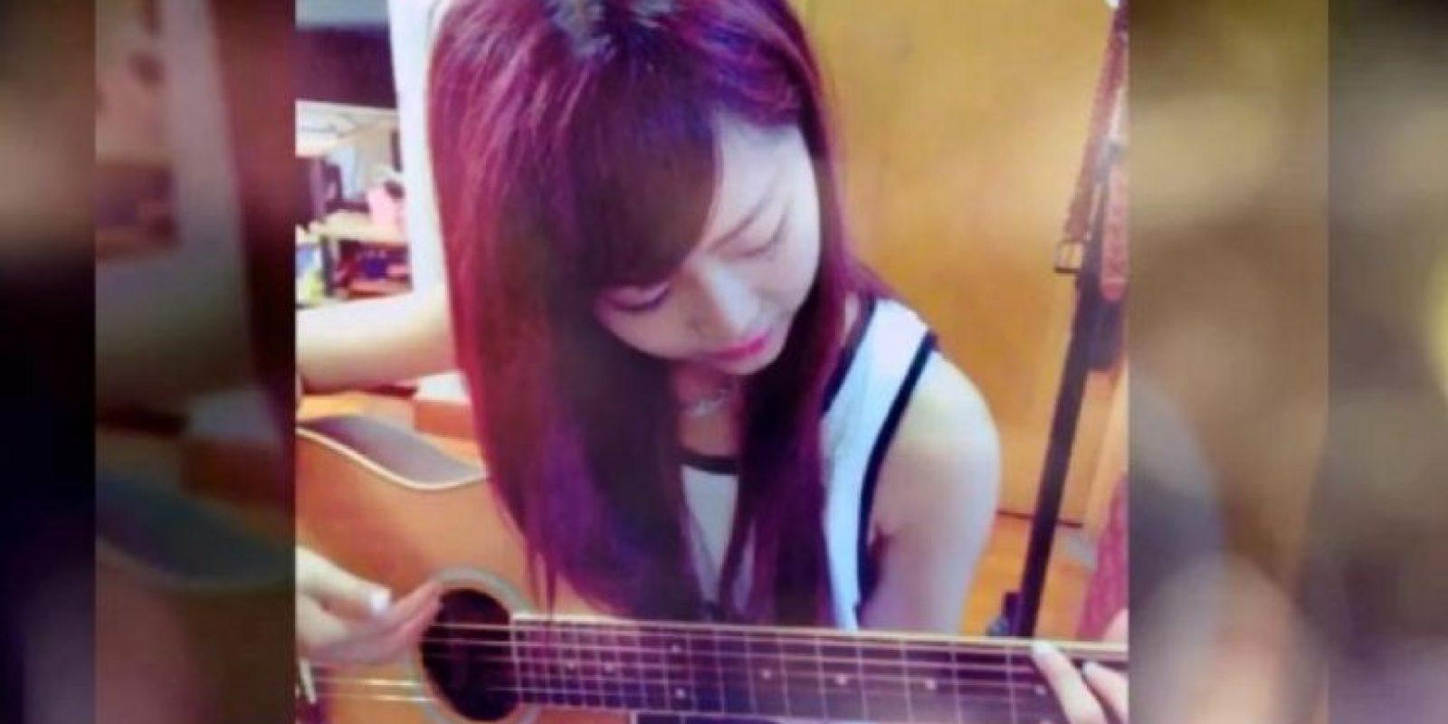 Wei menciona en su cuenta de Instagram que le gusta cantar y tocar la guitarra, sin embargo, no se considera buena en ello. Foto:Vía Instagram/@pppig