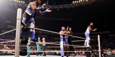 Una de las parejas a la que enfrentarán son The New Day, que estará representado por Big W y Kofi Kignston Foto: WWE