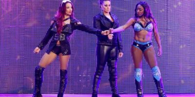 Que también enfrentarán al Team B.A.D. formado por Tamina, Sasha Banks y Naomi Foto:WWE