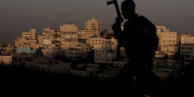 Guardia fronterizo israelí. Foto:AFP
