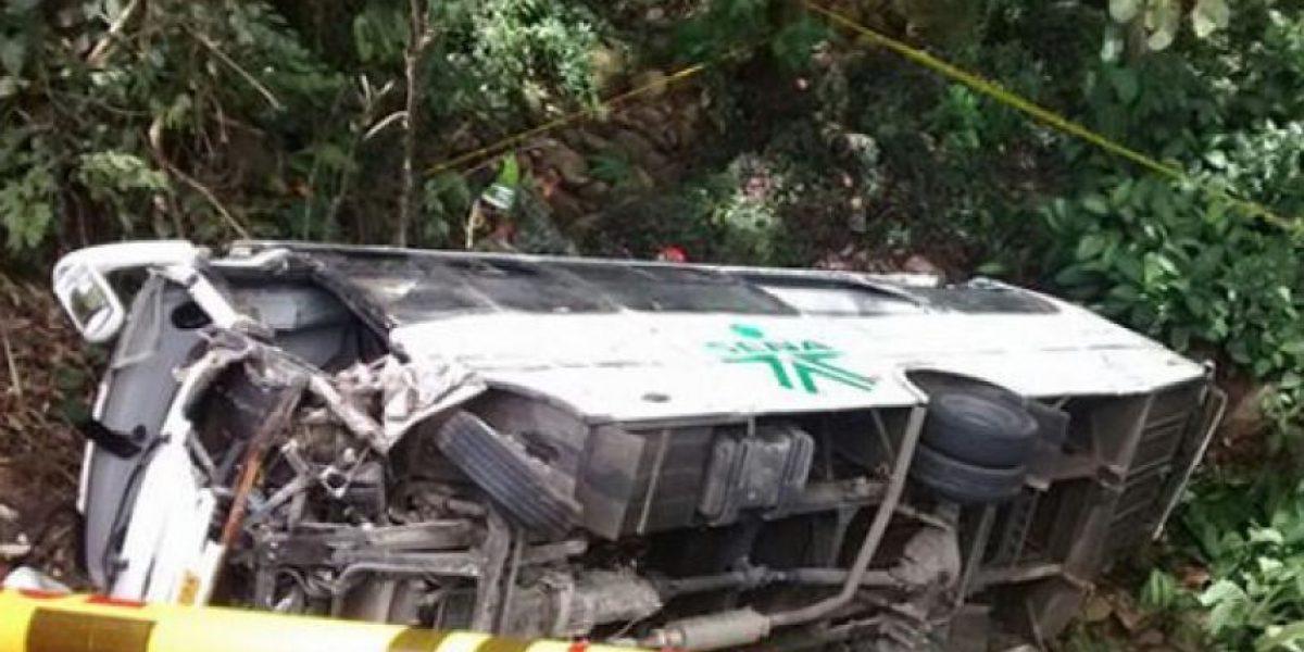 Vehículo de la caravana presidencial se accidenta en Bucaramanga