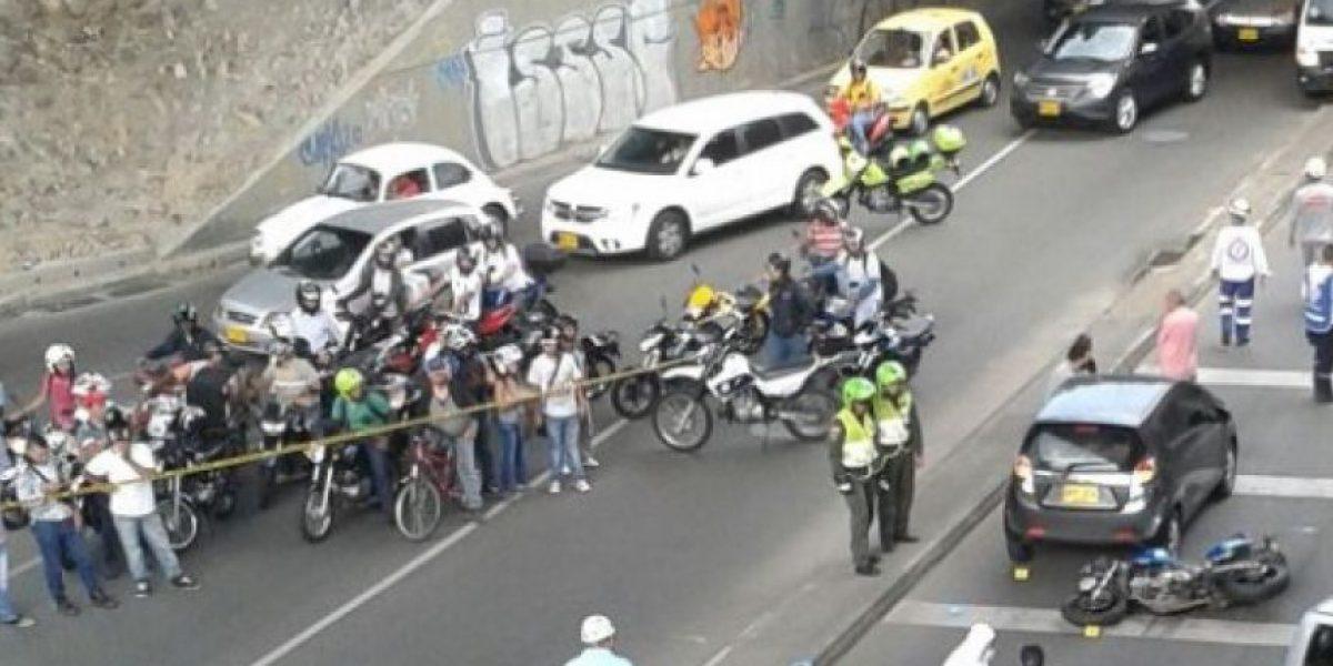 Fotos: Accidente en Medellín deja dos personas muertas