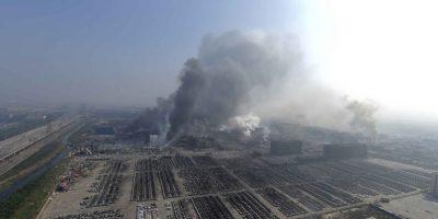 La contaminación de cianuro es severa dentro de la zona afectada. Foto:AP