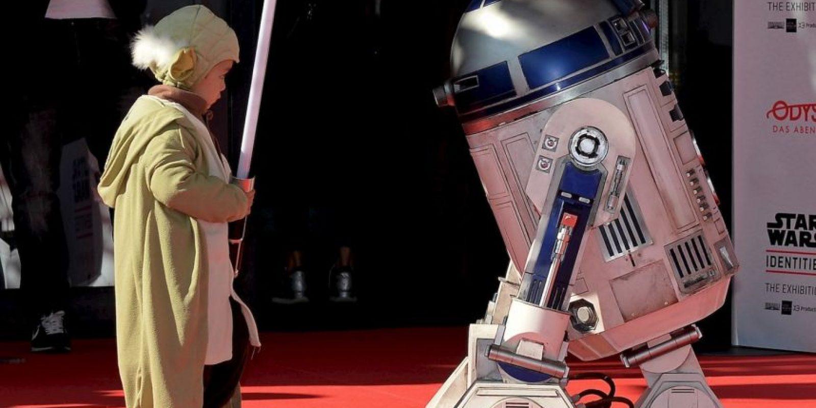 """El robot de """"Star Wars"""", """"R2-D2"""", fue bautizado simplemente como """"Arturito"""". Foto:Getty Images"""