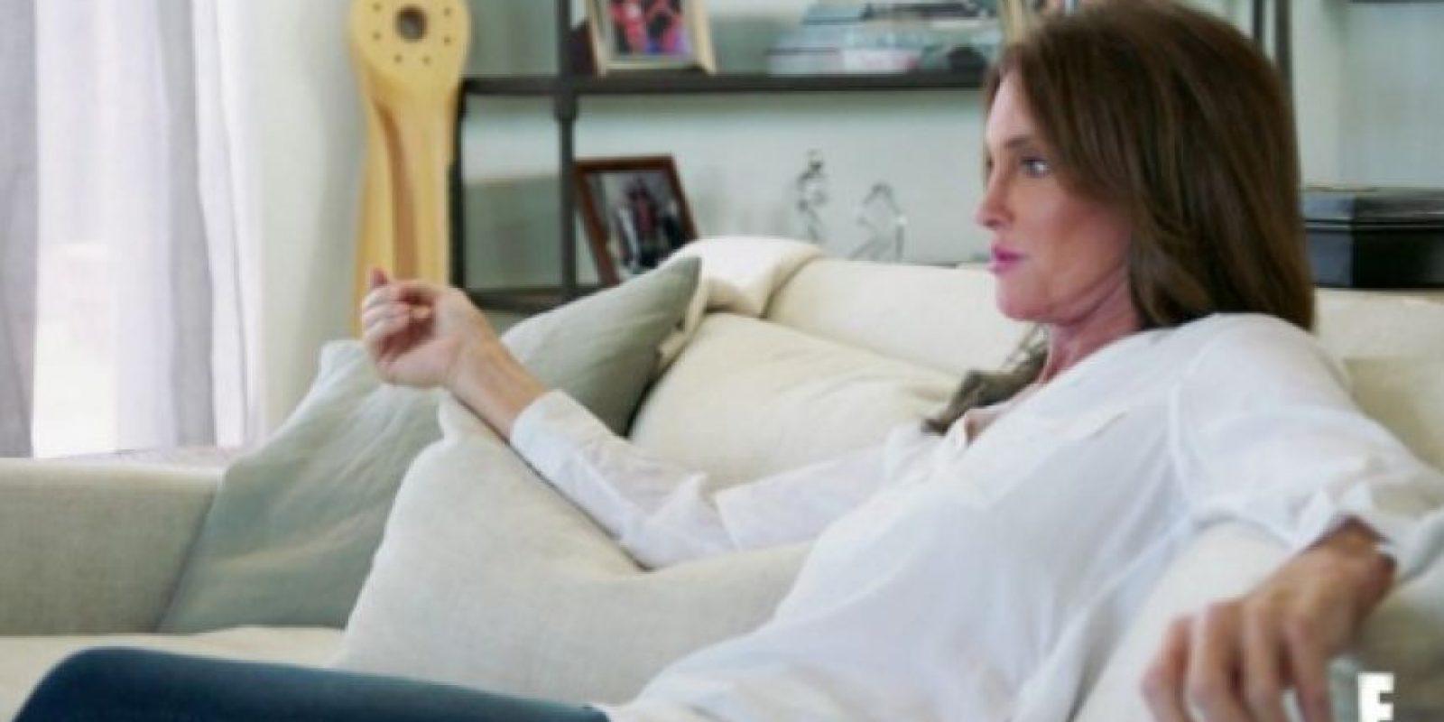 "Durante su conversación, Caitlyn llama a Kris Humphries ""idiota"" Foto:E! News"
