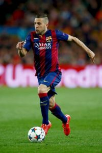 DEFENSAS: Jordi Alba (Barcelona/España) Foto: Getty Images