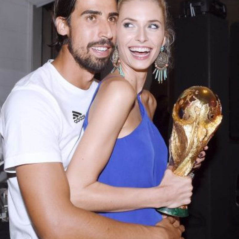 4. Lena Gercke (Sami Khedira) Foto: Getty Images