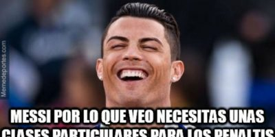 "Por ello, Cristiano le ""mandó"" un mensaje al argentino. Foto:memedeportes.com"