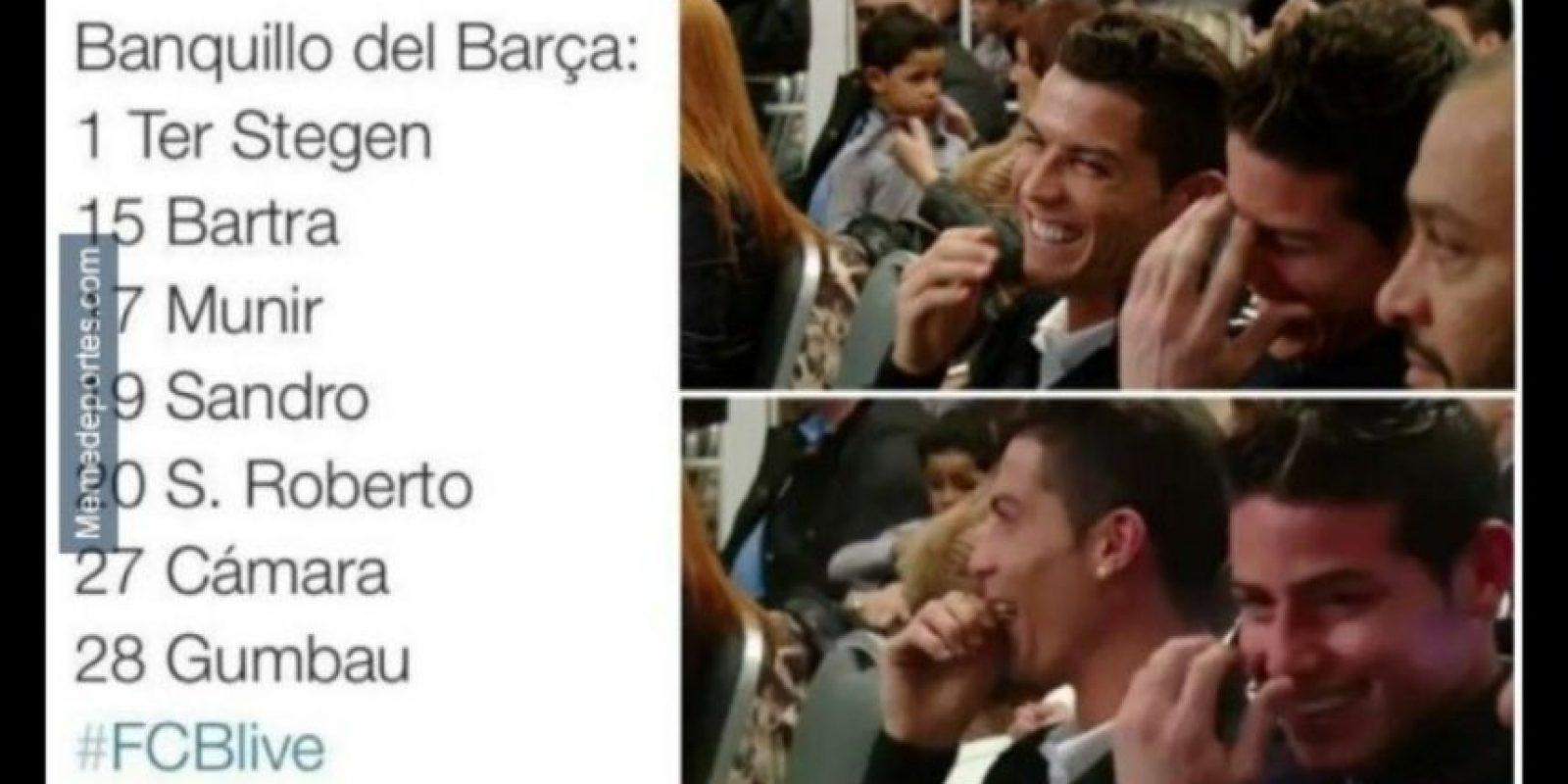 Así se burlan del Barcelona en el arranque de la Liga. Foto:memedeportes.com