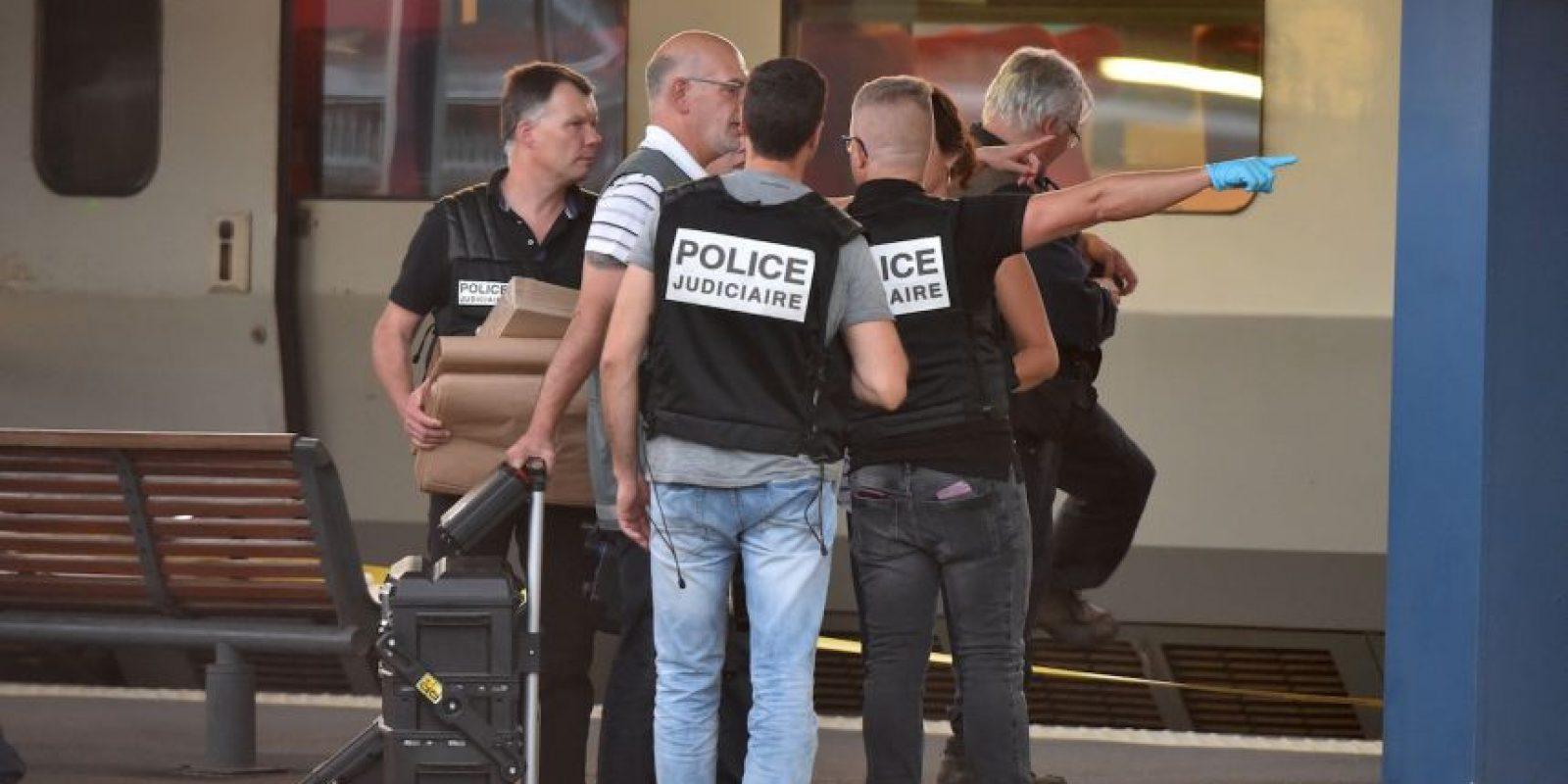 Tres hombres estadounidense que se encontraron abordo fueron quienes detuvieron el ataque de Ayoub El Khazzani. Foto:AFP