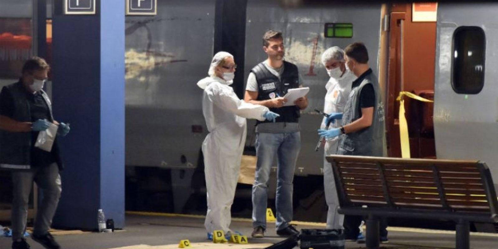 Tres personas resultaron heridas, entre ellos el actor francés Jean-Hugues Anglade. Foto:AFP