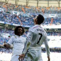 """Una vez conseguido el récord de goleador en la Liga, """"CR7"""" irá por el de goleador histórico del Real Madrid. El máximo anotador también es Raúl, que tiene 323 goles en 741 partidos, mientras que el portugués lleva marcados 314 tantos en 300 partidos. Sólo nueve de diferencia. Foto:Getty Images"""
