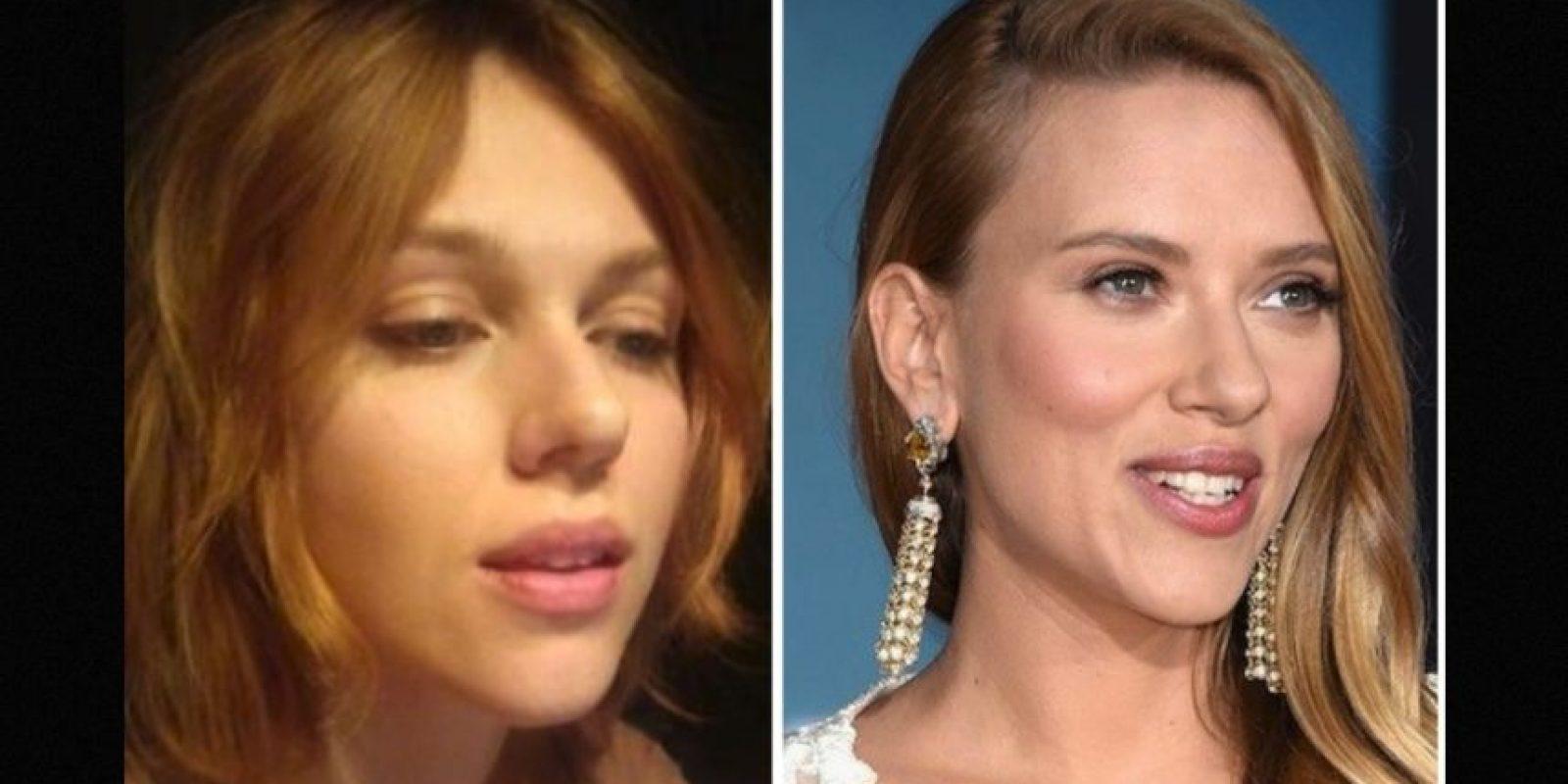 Igual a Scarlett Johansson Foto:Reddit/Getty
