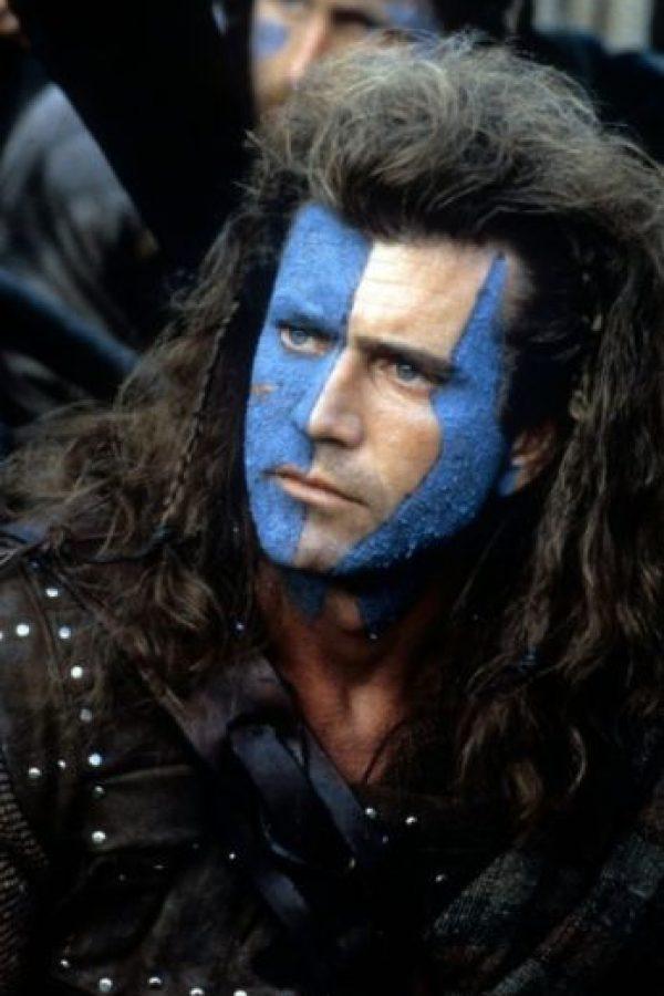 """""""Braveheart"""" fue dirigida, producida y protagonizada por Gibson. Foto:IMDb"""