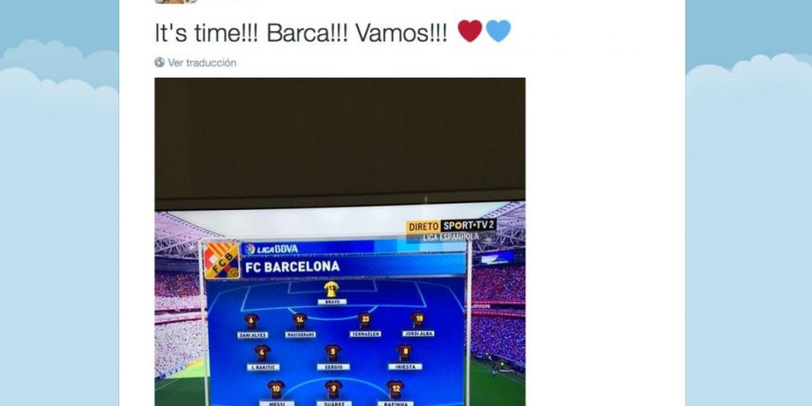 Foto:Captura de pantalla Twitter José Mourinho Jr.