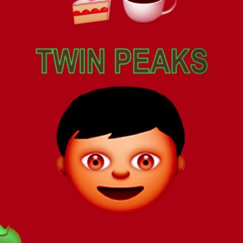 Twin Peaks (1990). Foto:vía emojifilms.tumblr.com