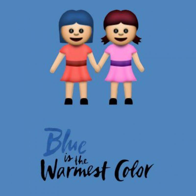 Blue Is the Warmest Color (2013). Foto:vía emojifilms.tumblr.com