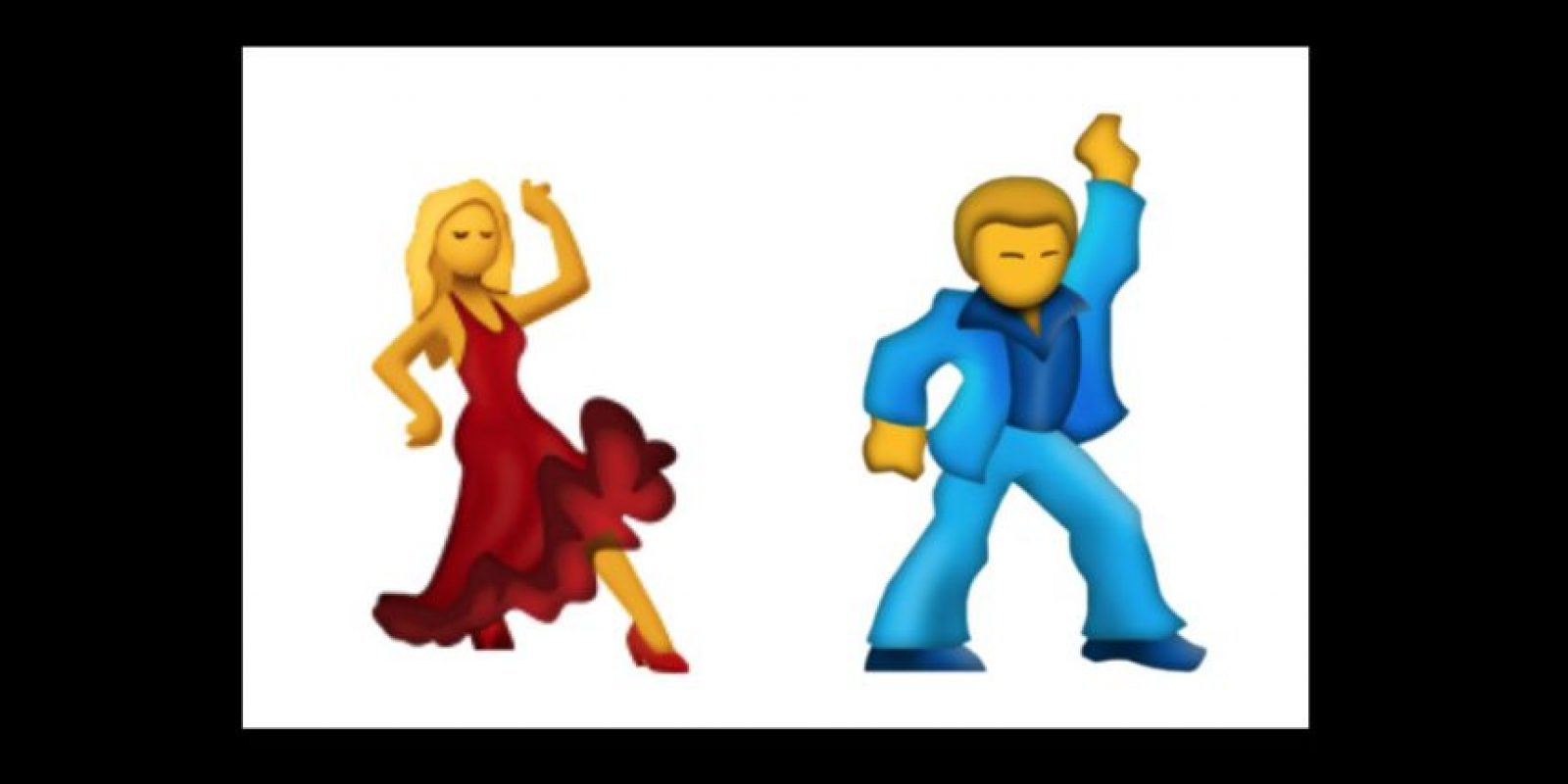 Hombre y mujer bailarines Foto:Emojipedia