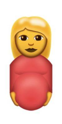Embarazada Foto:Emojipedia