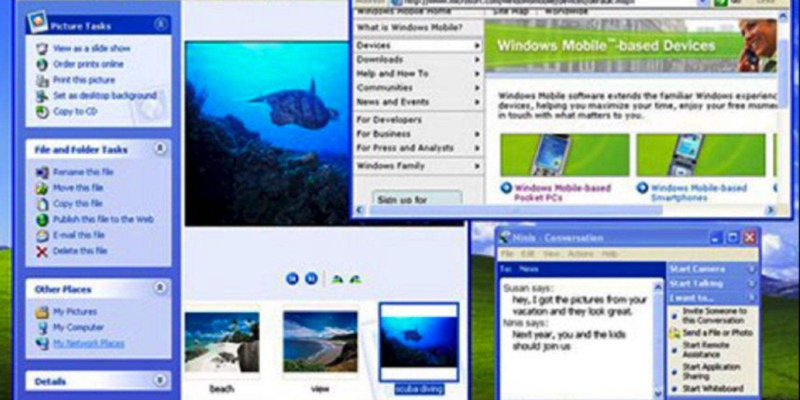 Plataformas como Windows 2000, Windows Me y Windows Home vendrían al abordaje, pero sería hasta el año 2001 cuando uno de los mejores Windows que se recuerda apareció: el Windows XP Foto:windows.microsoft.com