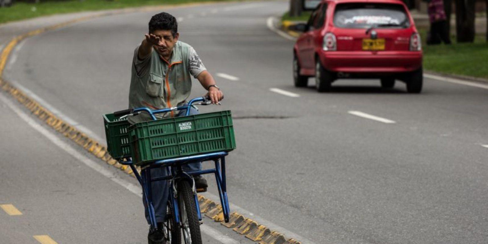 Bicicarriles en Bogotá Foto:JUAN PABLO PINO – PUBLIMETRO