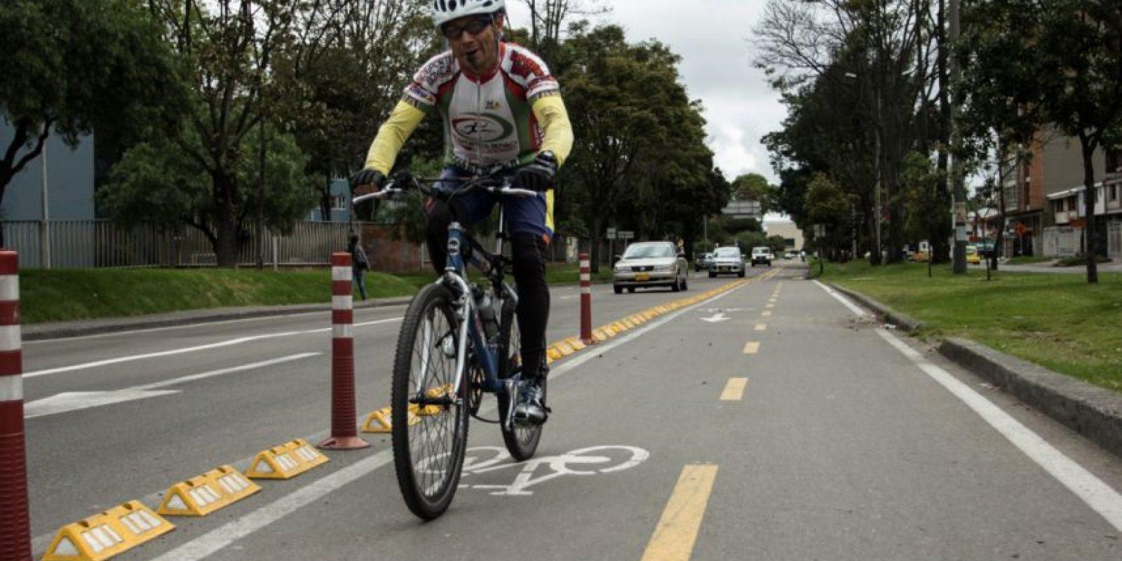 Bicicarriles en Bogotá. Foto:JUAN PABLO PINO – PUBLIMETRO